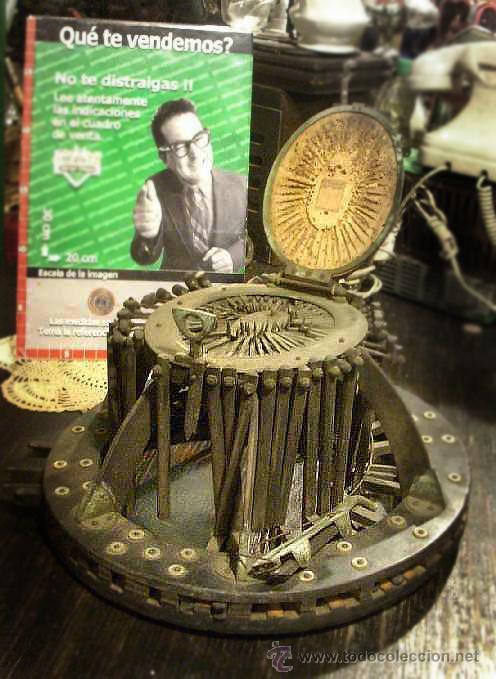 Antigüedades: ANTIGUO MOLDE FRANCES PARA SOMBREROS ALLIE MAILLARD AÑO 1800 - Foto 2 - 43662349