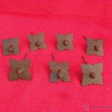 Antigüedades: LOTE CLAVOS ANTIGUOS,HIERRO,FORJA,MAGNIFICOS Y GRANDES,LIMPIOS. Lote 43664421
