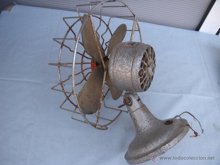 Antigüedades: ANTIGUO VENTILADOR NUMAX - Foto 3 - 43718854