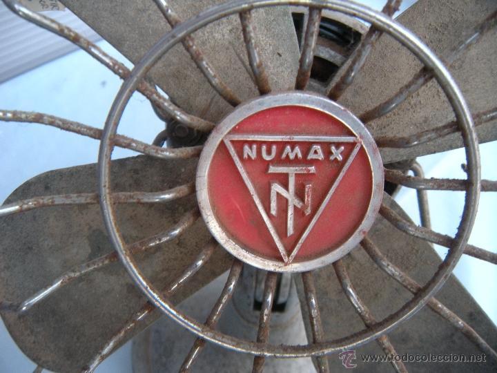 Antigüedades: ANTIGUO VENTILADOR NUMAX - Foto 6 - 43718854