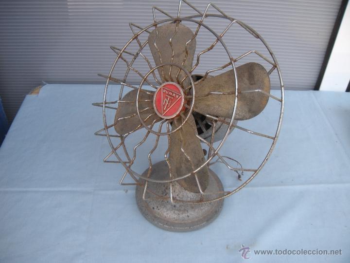 Antigüedades: ANTIGUO VENTILADOR NUMAX - Foto 7 - 43718854