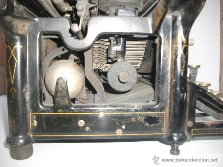 Antigüedades: Antigua maquina de escribir underwood. teclado español. Carro grande Barcelona Guillermo Truniger tz - Foto 8 - 43739096
