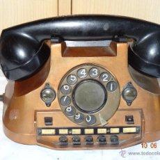 Teléfonos: TELEFONO CENTRALITA PTT ERICSSON METALICO. Lote 43747841
