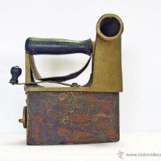 Antigüedades: PLANCHA CARBÓN ANTIGUA DE CHIMENEA. Lote 43780624