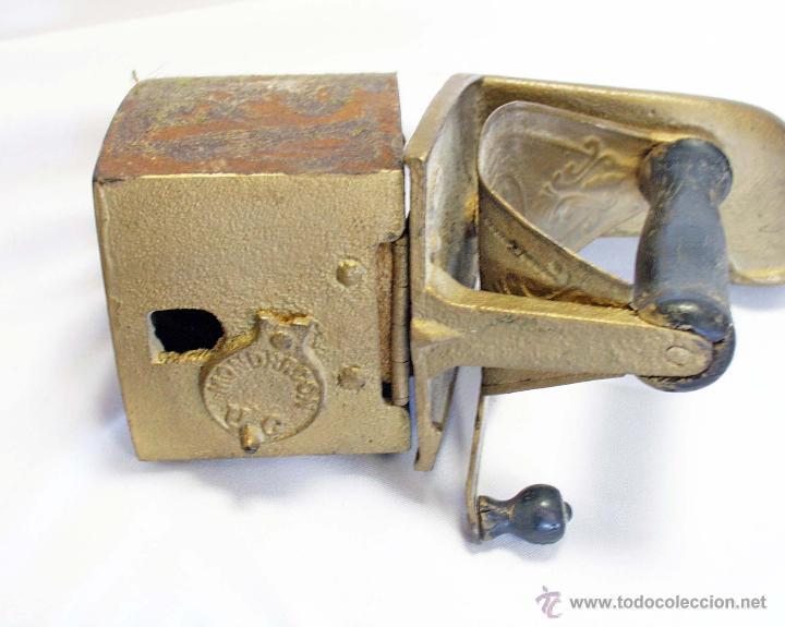 Antigüedades: Plancha carbón antigua de chimenea - Foto 3 - 43780624