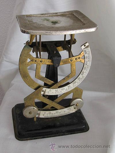 Antigüedades: ANTIGUA BALANZA PESACARTAS DE CORREOS myc - Foto 4 - 43818461