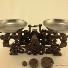 Antigüedades: BALANZA HIERRO FUNDIDO. Lote 43829300