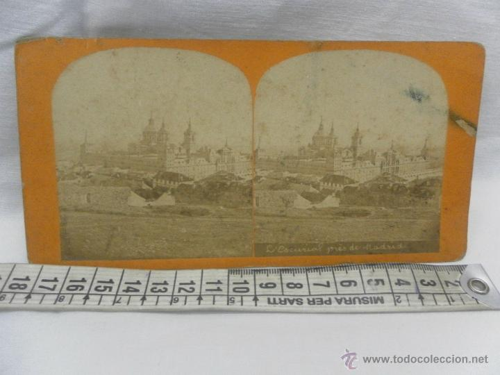 Antigüedades: Visor estereoscópico de caoba. Siglo XIX / XX. Se acompaña con 9 vistas - Foto 8 - 43844505