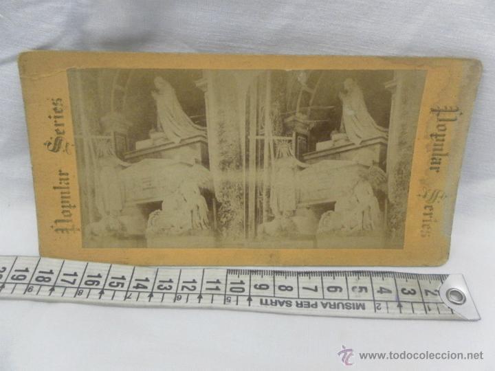 Antigüedades: Visor estereoscópico de caoba. Siglo XIX / XX. Se acompaña con 9 vistas - Foto 9 - 43844505