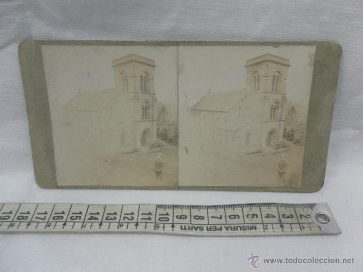 Antigüedades: Visor estereoscópico de caoba. Siglo XIX / XX. Se acompaña con 9 vistas - Foto 16 - 43844505
