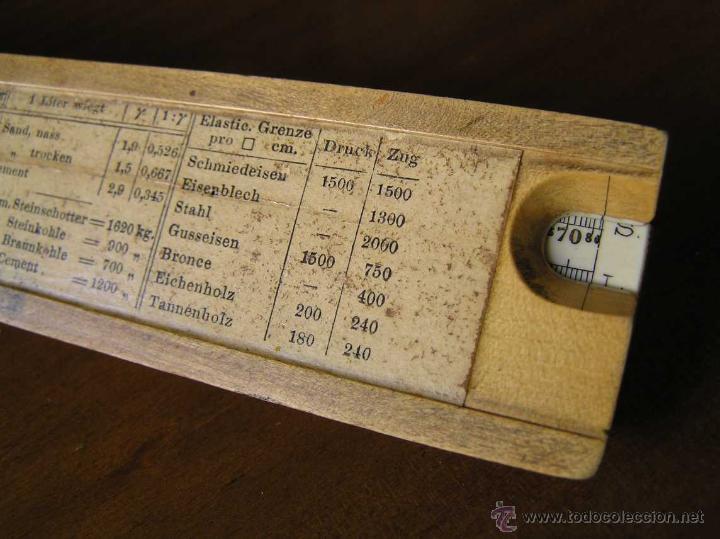 Antigüedades: REGLA DE CALCULO A.W. FABER. DE PRINCIPIOS DEL SIGLO PASADO - SLIDE RULE RECHENSCHIEBER - - Foto 22 - 43849728