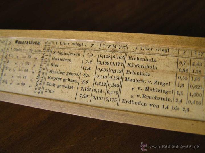Antigüedades: REGLA DE CALCULO A.W. FABER. DE PRINCIPIOS DEL SIGLO PASADO - SLIDE RULE RECHENSCHIEBER - - Foto 23 - 43849728