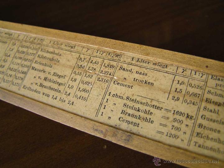 Antigüedades: REGLA DE CALCULO A.W. FABER. DE PRINCIPIOS DEL SIGLO PASADO - SLIDE RULE RECHENSCHIEBER - - Foto 26 - 43849728