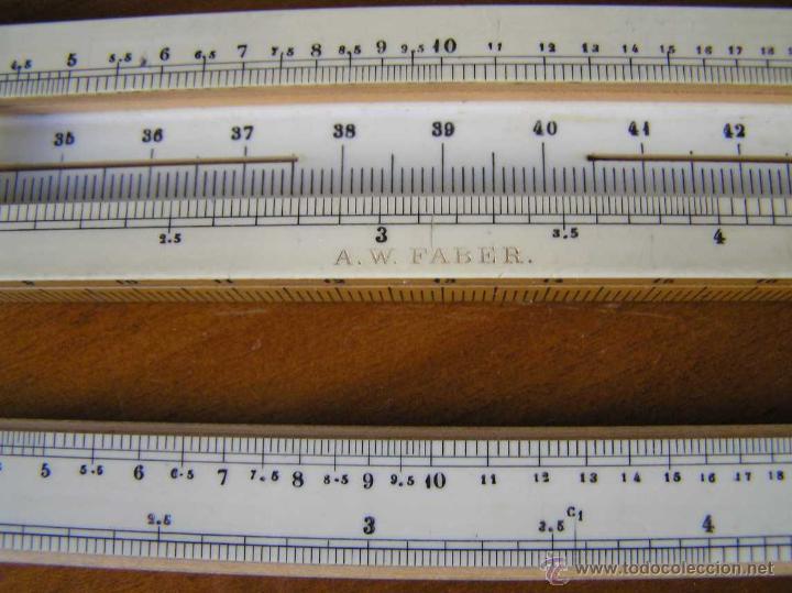 Antigüedades: REGLA DE CALCULO A.W. FABER. DE PRINCIPIOS DEL SIGLO PASADO - SLIDE RULE RECHENSCHIEBER - - Foto 28 - 43849728