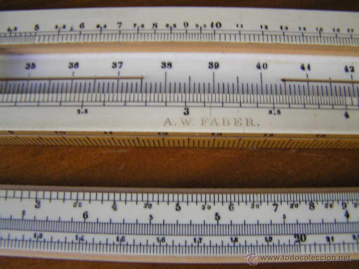 Antigüedades: REGLA DE CALCULO A.W. FABER. DE PRINCIPIOS DEL SIGLO PASADO - SLIDE RULE RECHENSCHIEBER - - Foto 33 - 43849728