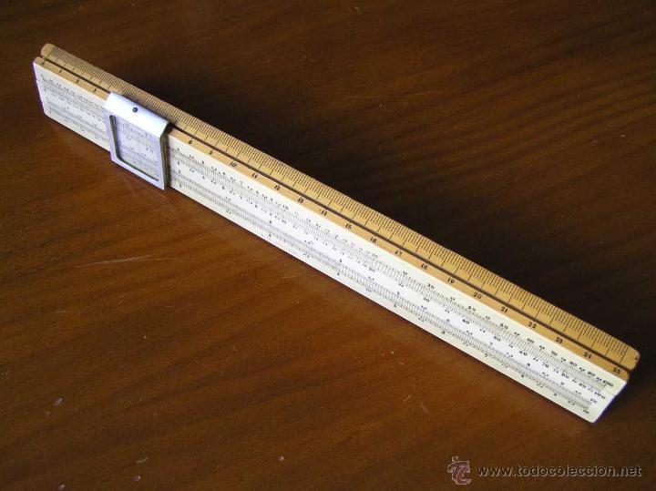 Antigüedades: REGLA DE CALCULO A.W. FABER. DE PRINCIPIOS DEL SIGLO PASADO - SLIDE RULE RECHENSCHIEBER - - Foto 43 - 43849728