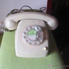 Teléfonos: TELEFONO VINTAGE OCHENTERIO DE DISCO CON CANDADO PARA NO PODER MARCAR. Lote 43938726