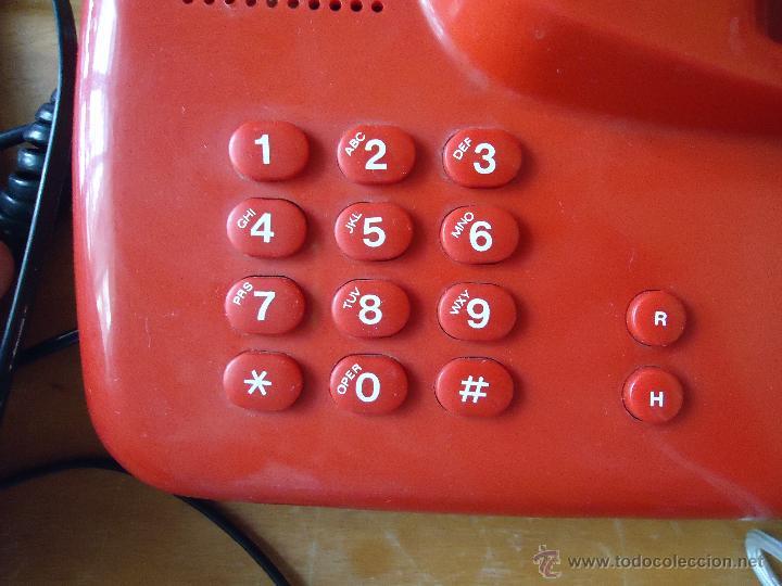 Teléfonos: precioso telefono rojo funcionando - Foto 4 - 43972694