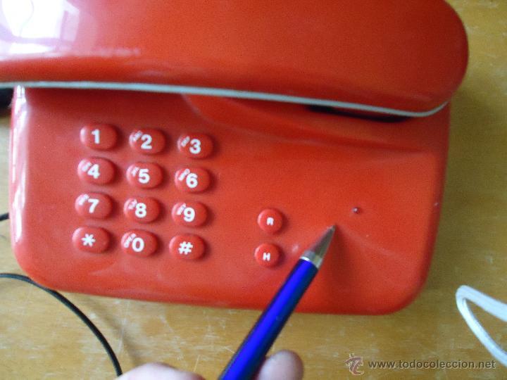 Teléfonos: precioso telefono rojo funcionando - Foto 5 - 43972694