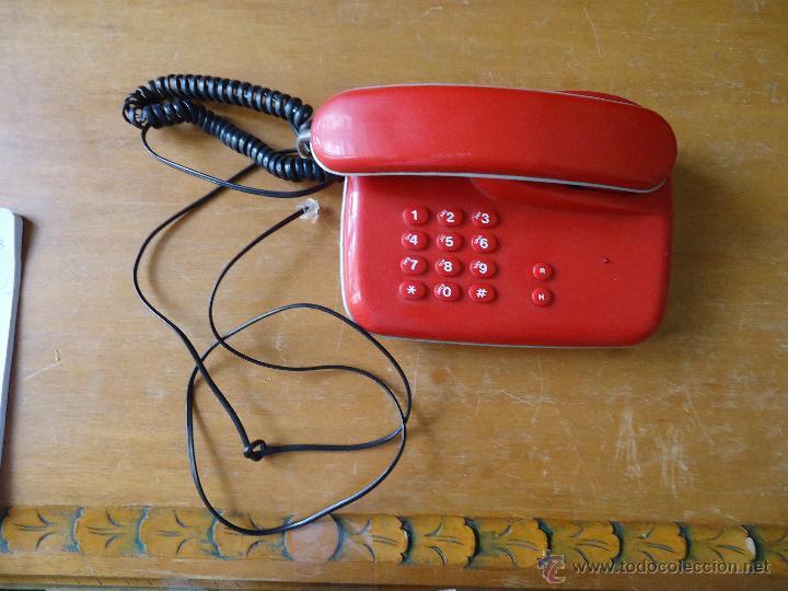 Teléfonos: precioso telefono rojo funcionando - Foto 9 - 43972694
