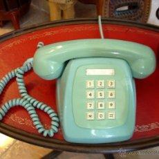 Teléfonos: TELEFONO AMPAR CON SISTEMA DE PULSO COLOR CELESTE. Lote 43983286