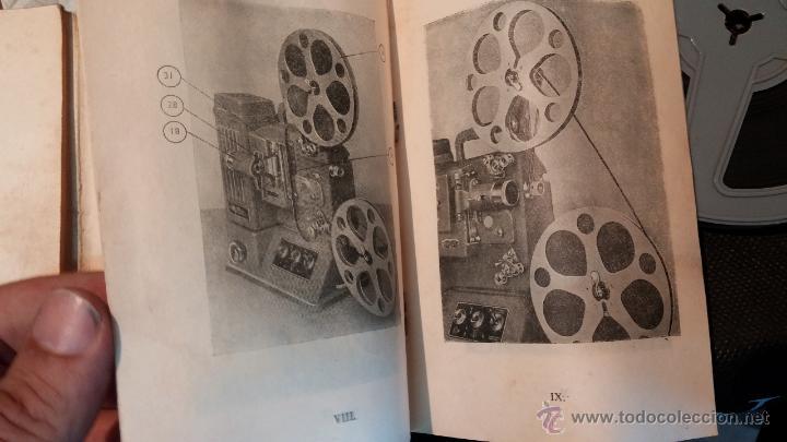 Antigüedades: Proyector de cine, muy antiguo, de origen checoslovaco, con maletín original, aceitera original,.... - Foto 71 - 44027361
