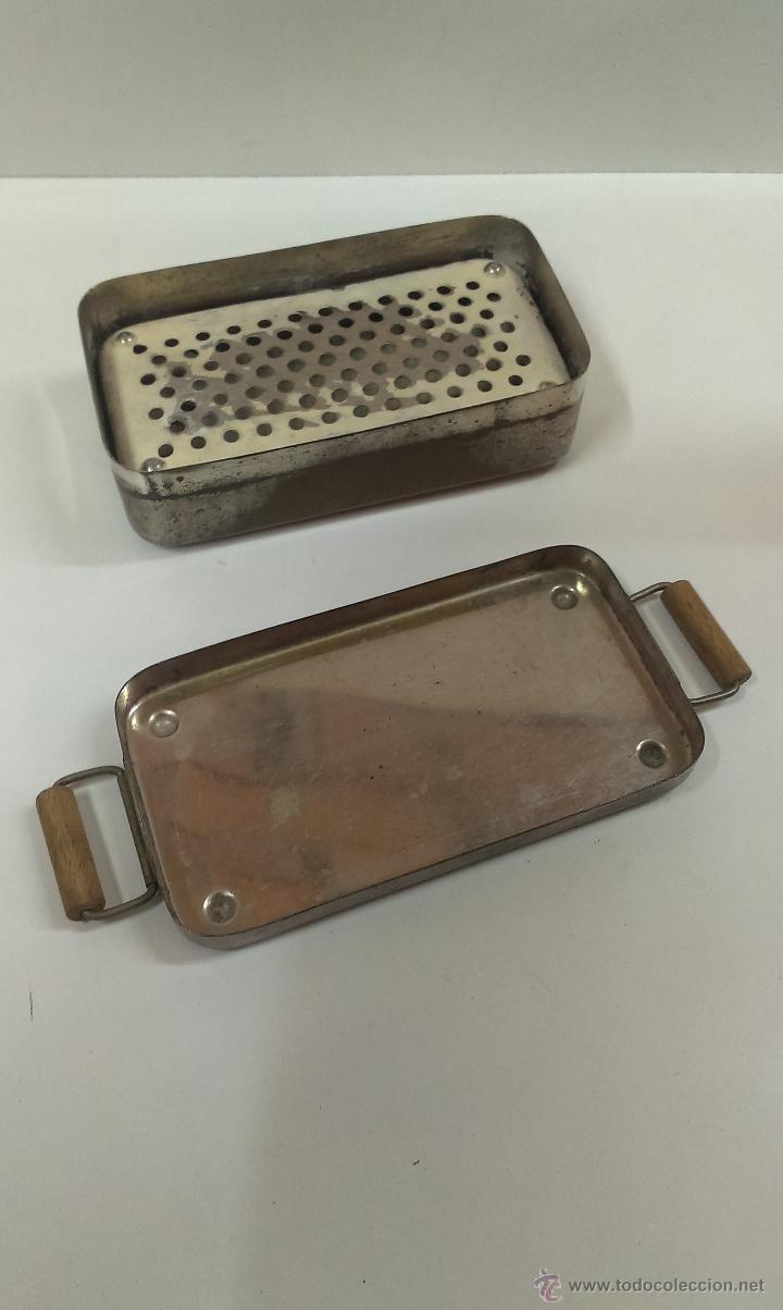 Antigüedades: ESTERILIZADOR ANTIGUO PARA INSTRUMENTAL MEDICO - Foto 3 - 44041233