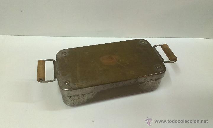 Antigüedades: ESTERILIZADOR ANTIGUO PARA INSTRUMENTAL MEDICO - Foto 4 - 44041233