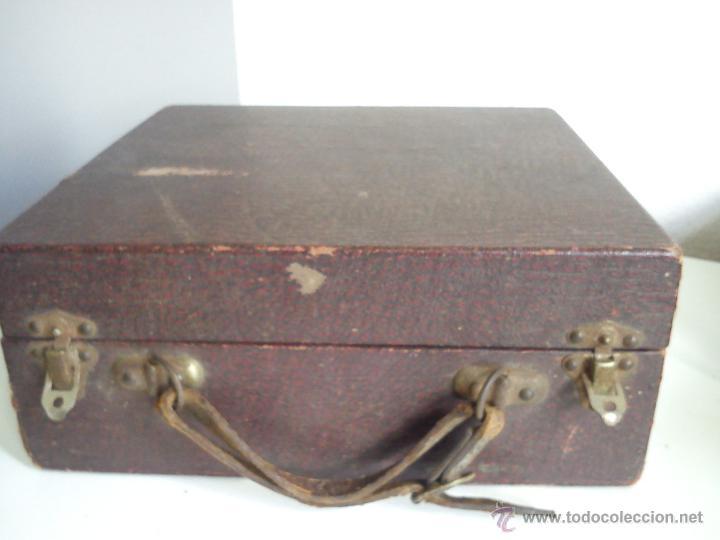 Antigüedades: ANTIGUA Y ESQUESITA MAQUINA DE MEDICO DOS ANOS 1918 ES ORIGINALE . - Foto 5 - 44091462