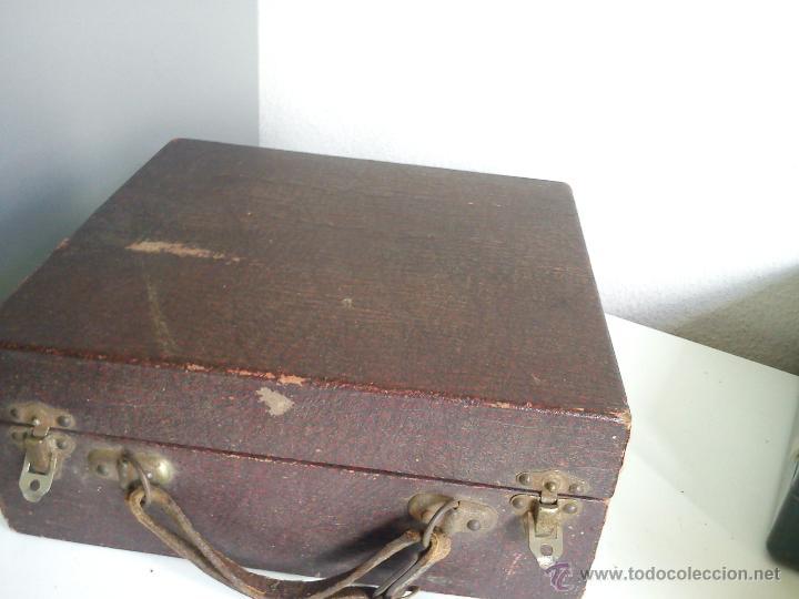 Antigüedades: ANTIGUA Y ESQUESITA MAQUINA DE MEDICO DOS ANOS 1918 ES ORIGINALE . - Foto 6 - 44091462