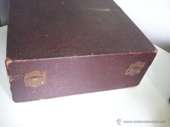 Antigüedades: ANTIGUA Y ESQUESITA MAQUINA DE MEDICO DOS ANOS 1918 ES ORIGINALE . - Foto 7 - 44091462