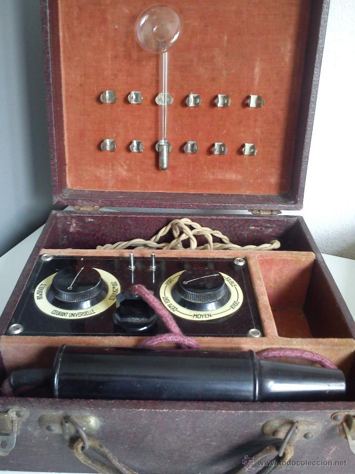 Antigüedades: ANTIGUA Y ESQUESITA MAQUINA DE MEDICO DOS ANOS 1918 ES ORIGINALE . - Foto 10 - 44091462