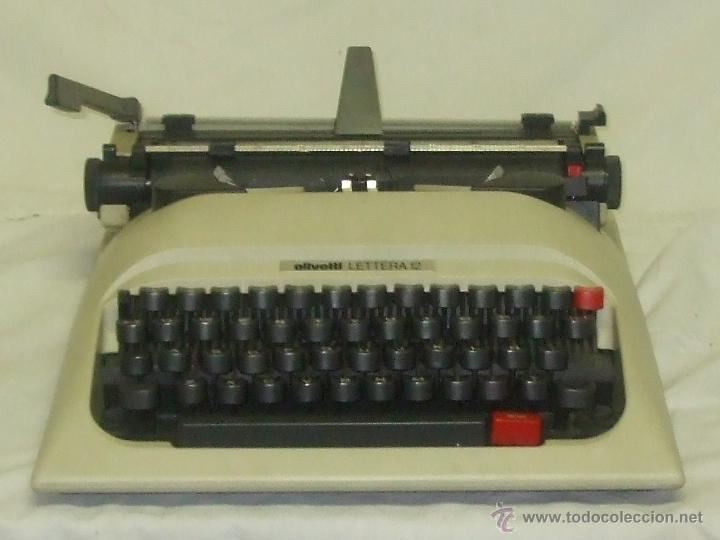 OLIVETTI LETTERA 12 (Antigüedades - Técnicas - Máquinas de Escribir Antiguas - Olivetti)
