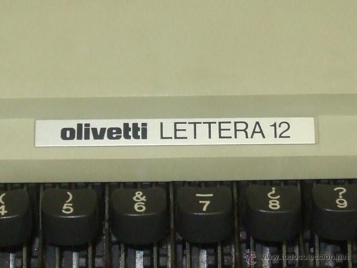 Antigüedades: Olivetti Lettera 12 - Foto 2 - 44105990