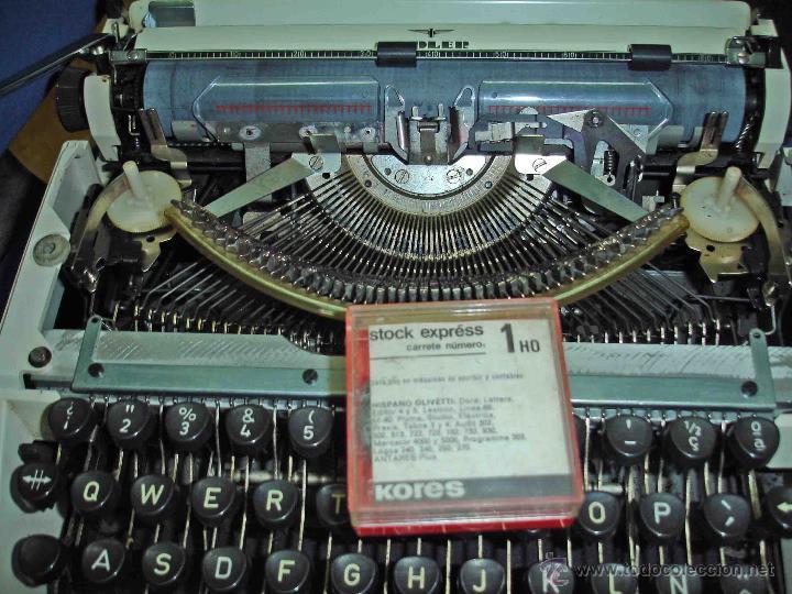 Antigüedades: Maquina de escribir Adler. modelo tippa. - Foto 4 - 44116734
