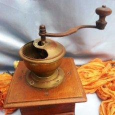 Antigüedades: ANTIGUO MOLINILLO DE CAFÉ. MARCA GESCHMIEDET. DE COLECCIÓN:. Lote 44139833