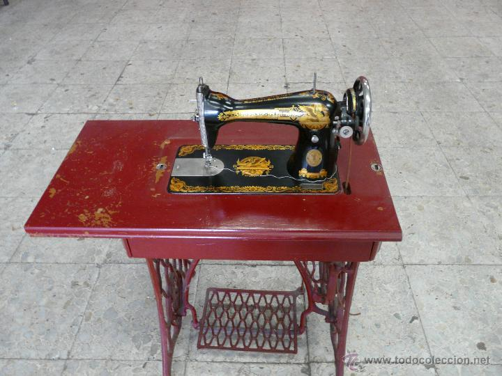 Antigüedades: MAQUINA DE COSER SINGER - Foto 2 - 44192514
