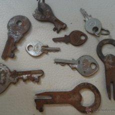 Antigüedades: LLAVE ANTIGUA LOTE LLAVES CANDADO ?. Lote 44227925