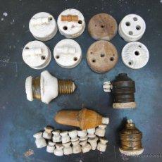 Antigüedades: LOTE MATERIAL ELECTRICO. Lote 44232214