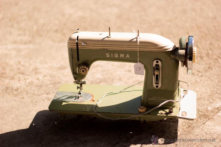 Máquina de coser sigma modelo h. - Vendido en Venta
