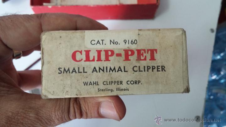 Antigüedades: Antigua maquina electrica para cortar el pelo, con factura, caja y manuales originales de 1965 - Foto 2 - 44245458