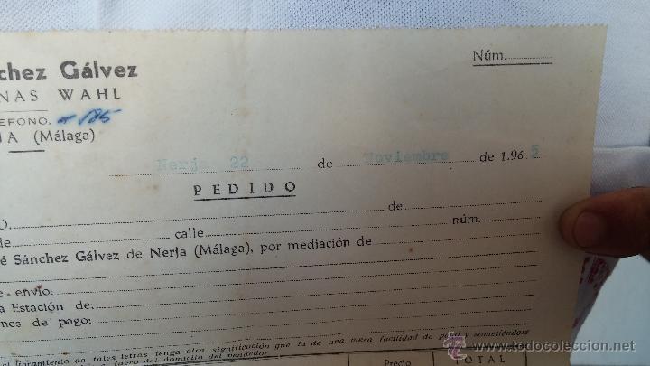 Antigüedades: Antigua maquina electrica para cortar el pelo, con factura, caja y manuales originales de 1965 - Foto 5 - 44245458
