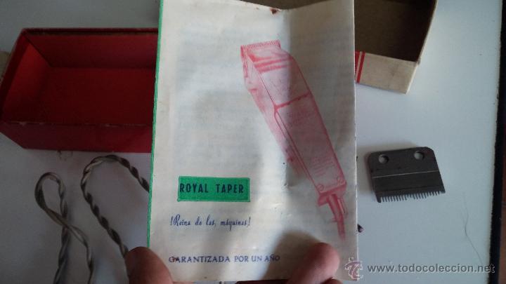Antigüedades: Antigua maquina electrica para cortar el pelo, con factura, caja y manuales originales de 1965 - Foto 9 - 44245458