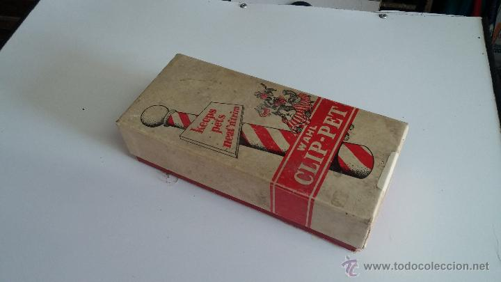 Antigüedades: Antigua maquina electrica para cortar el pelo, con factura, caja y manuales originales de 1965 - Foto 21 - 44245458