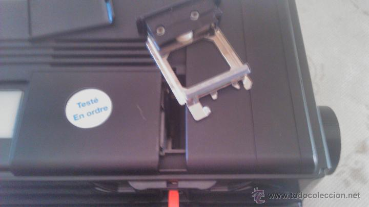 Antigüedades: Proyector de diapositivas Braun Nurnberg Paximat Multimag. 915 AFC. Made in germany - Foto 7 - 116113275