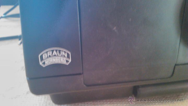 Antigüedades: Proyector de diapositivas Braun Nurnberg Paximat Multimag. 915 AFC. Made in germany - Foto 9 - 116113275