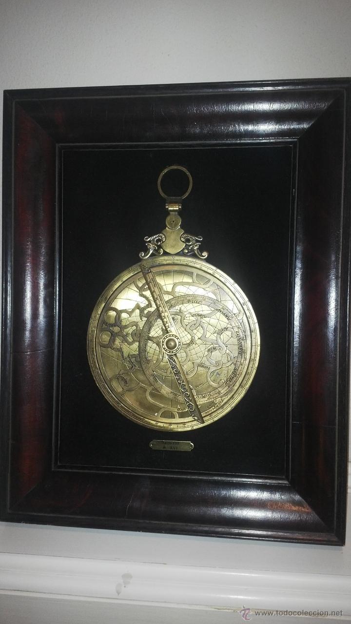 astrolabio grande con marco - Comprar Antigüedades Marinas y Navales ...