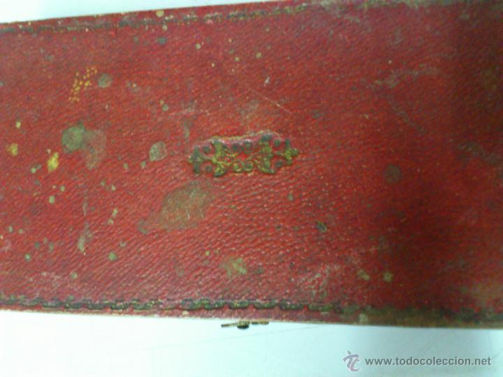 Antigüedades: BALANZA EN SU CAJA ORIGINAL SIN PONDERALES - Foto 3 - 44272843