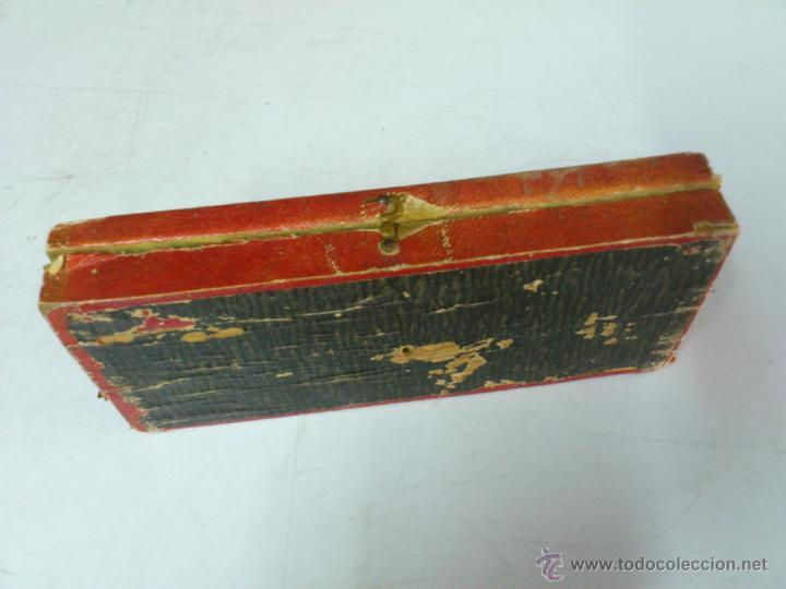 Antigüedades: BALANZA EN SU CAJA ORIGINAL SIN PONDERALES - Foto 4 - 44272843
