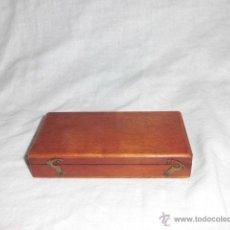 Antigüedades: ANTIGUA CAJA PARA PESAS LEER DESCRIPCION. Lote 44292086